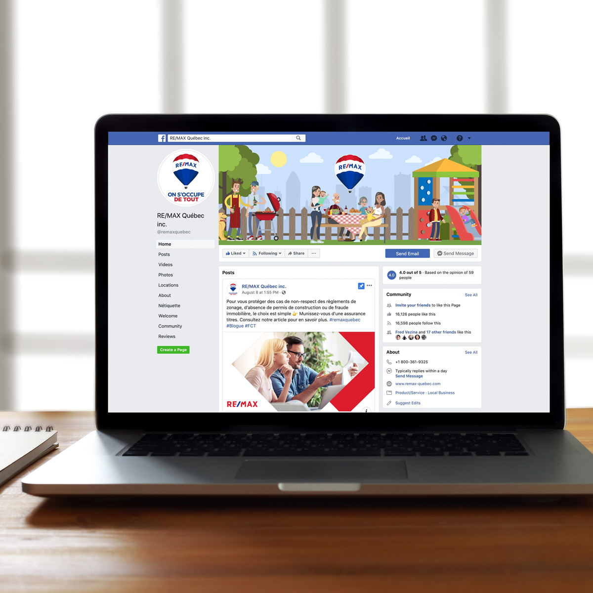 Remax FB - RE/MAX Québec