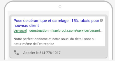 mobile search - Foire aux questions (Google Ads)