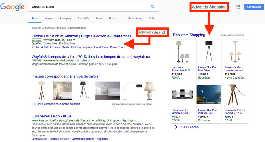 search - Foire aux questions (Google Ads)